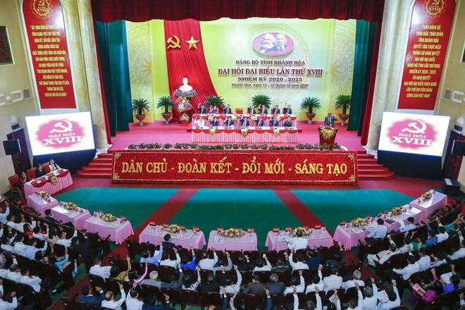 Ông Nguyễn Khắc Định tái đắc cử Bí thư Tỉnh ủy Khánh Hòa - Ảnh 1.