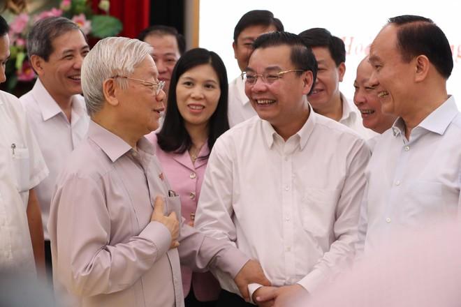 Tổng Bí thư, Chủ tịch nước Nguyễn Phú Trọng: Cán bộ lãnh đạo Hà Nội phải có bản lĩnh, trí tuệ, đoàn kết - Ảnh 4.
