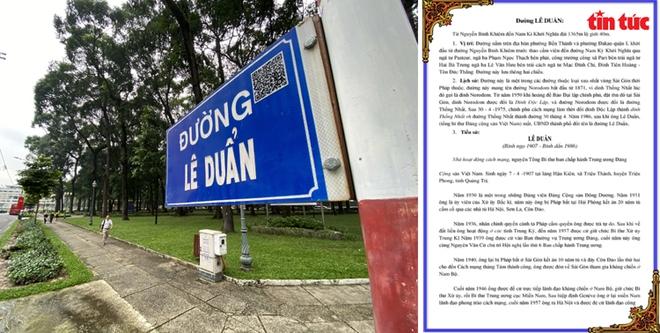 TP Hồ Chí Minh gắn mã QR trên nhiều tuyến đường để tra cứu tên nhân vật lịch sử - Ảnh 2.