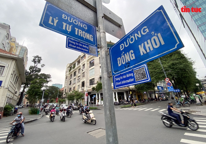 TP Hồ Chí Minh gắn mã QR trên nhiều tuyến đường để tra cứu tên nhân vật lịch sử - Ảnh 3.