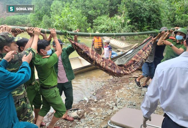 Không còn dấu vết của Trạm bảo vệ rừng 67 - nơi đoàn cứu hộ dừng chân Photo-1-1602664253693589275035-1602664335229538261929