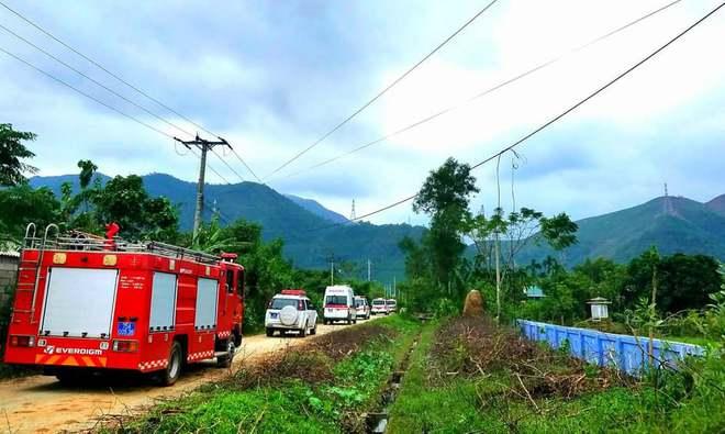 Không còn dấu vết của Trạm bảo vệ rừng 67 - nơi đoàn cứu hộ dừng chân Photo-1-16026651513261546672755