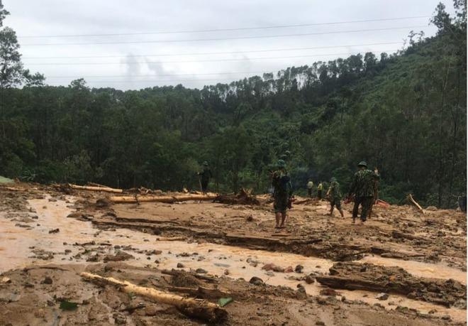 Không còn dấu vết của Trạm bảo vệ rừng 67 - nơi đoàn cứu hộ dừng chân Photo-1-16026663884251007663269