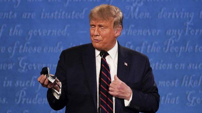 Tổng thống Trump bỏ qua cơ hội thay đổi chiến thuật tranh cử sau khi mắc COVID-19 - Ảnh 1.