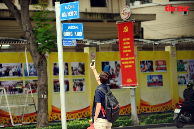 TP Hồ Chí Minh gắn mã QR trên nhiều tuyến đường để tra cứu tên nhân vật lịch sử - Ảnh 5.