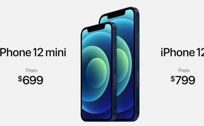 iPhone 12 và iPhone 12 mini ra mắt: Màn hình OLED, nâng cấp camera, A14 mạnh hơn 40%, hỗ trợ 5G, giá từ 699 USD