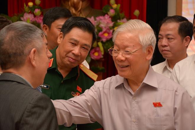 Tổng Bí thư, Chủ tịch nước Nguyễn Phú Trọng: Cán bộ lãnh đạo Hà Nội phải có bản lĩnh, trí tuệ, đoàn kết - Ảnh 1.