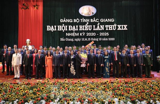 Ông Dương Văn Thái trúng cử Bí thư Tỉnh ủy Bắc Giang với 100% phiếu thuận - Ảnh 1.