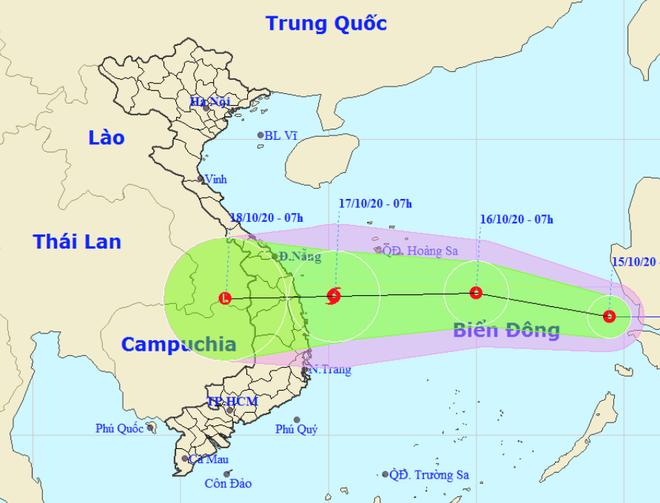 TS Mai Văn Khiêm: Áp thấp nhiệt đới vào Biển Đông, miền Trung chịu thêm những trận mưa lớn - Ảnh 4.