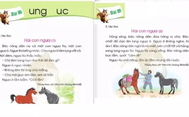 Sẽ chỉnh sửa nội dung chưa phù hợp ở SGK Tiếng Việt lớp 1 - Cánh Diều