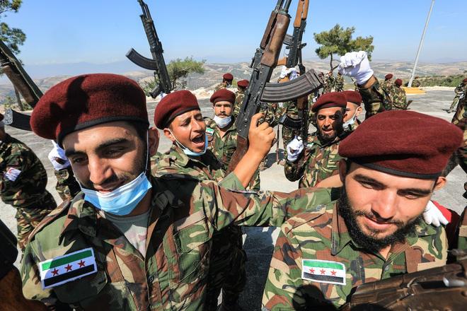 Nỗi khiếp đảm của lính đánh thuê Syria khi phải đối đầu với các tay súng bắn tỉa Armenia - Ảnh 1.