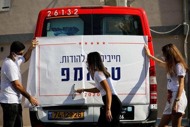 Đảng Cộng hòa, Dân chủ Mỹ giành giật phiếu bầu ở Israel, Palestine - Ảnh 2.