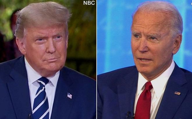"""Tổng thống Trump """"toát mồ hôi"""" trong phiên hỏi - đáp với cử tri"""