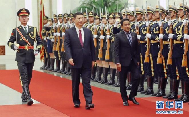 """Chỉ trích gay gắt FTA với Trung Quốc hủy hoại kinh tế, Maldives đòi """"xé"""" thỏa thuận thương mại"""