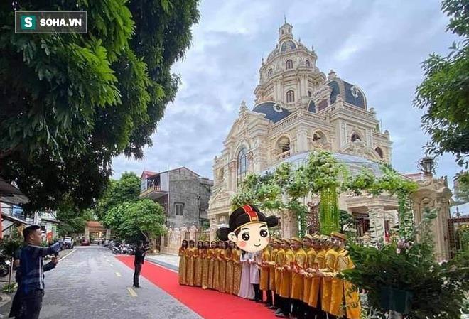 Đại gia Tuyên Quang và lễ ăn hỏi trong lâu đài dát vàng lộng lẫy đến nghẹt thở - Ảnh 1.