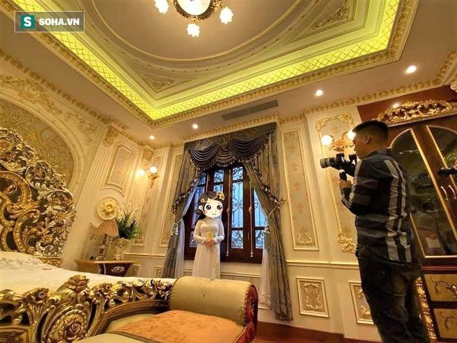 Đại gia Tuyên Quang và lễ ăn hỏi trong lâu đài dát vàng lộng lẫy đến nghẹt thở - Ảnh 5.