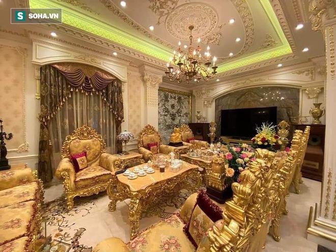 Đại gia Tuyên Quang và lễ ăn hỏi trong lâu đài dát vàng lộng lẫy đến nghẹt thở - Ảnh 4.