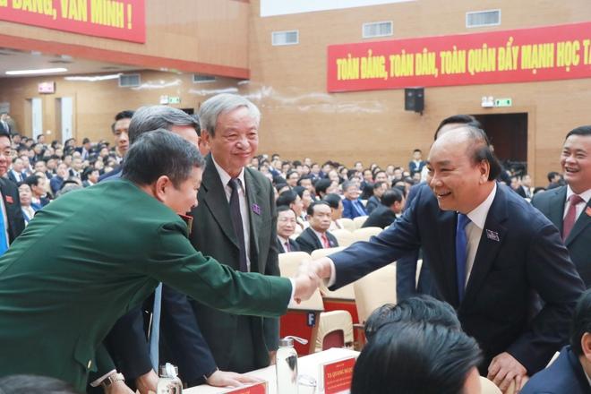 Thủ tướng Nguyễn Xuân Phúc dự khai mạc Đại hội Đảng bộ tỉnh Nghệ An - Ảnh 5.
