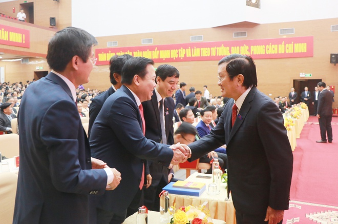 Thủ tướng Nguyễn Xuân Phúc dự khai mạc Đại hội Đảng bộ tỉnh Nghệ An - Ảnh 7.