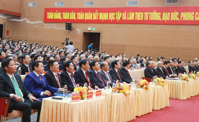 Thủ tướng Nguyễn Xuân Phúc dự khai mạc Đại hội Đảng bộ tỉnh Nghệ An - Ảnh 11.