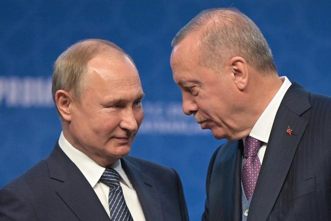 Cuộc chiến âm thầm giữa TT Putin-Erdogan ở Nagorno-Karabakh: Nga có nguy cơ mất biển Caspi? - Ảnh 1.