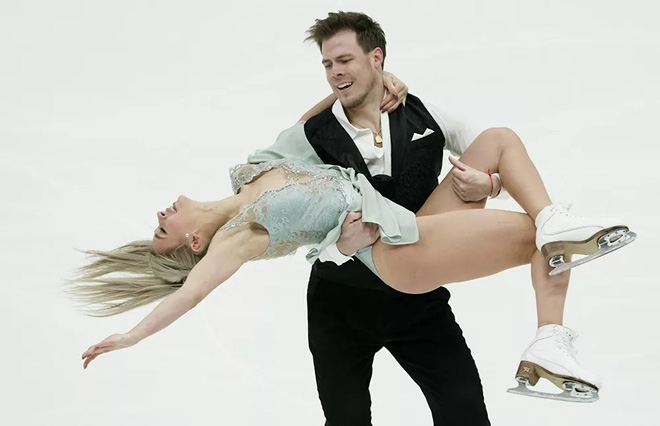 7 ngày qua ảnh: Cặp vận động viên Nga phô diễn trên sân băng - Ảnh 2.