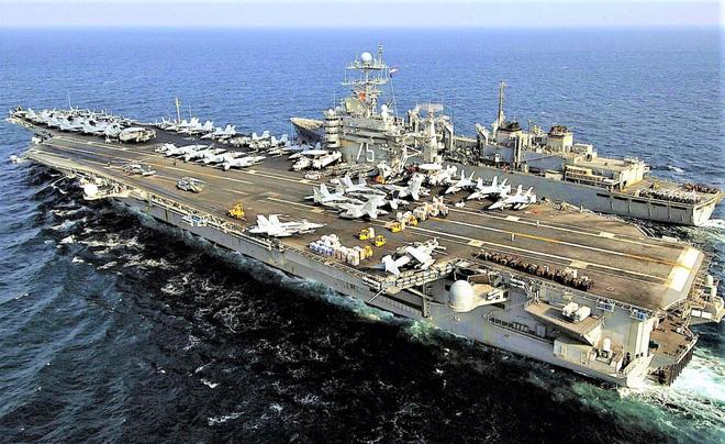 Cơ cấu số lượng tàu sân bay mới sẽ khiến Hải quân Mỹ yếu hơn? - Ảnh 2.