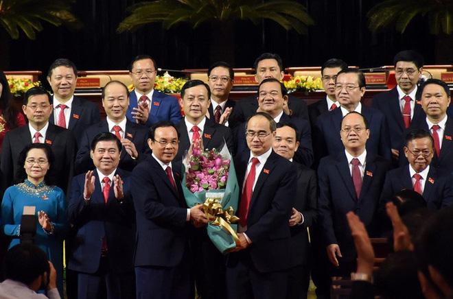 Tân Bí thư Thành ủy TP HCM Nguyễn Văn Nên phát biểu nhận nhiệm vụ - Ảnh 1.