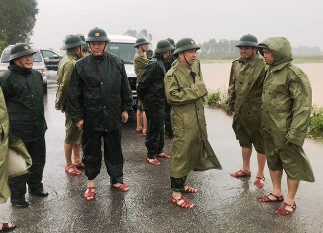Đi vào hiểm nguy vì nhân dân -  Quyết định cần thiết và dũng cảm của Thiếu tướng Nguyễn Văn Man cùng đồng đội - Ảnh 1.