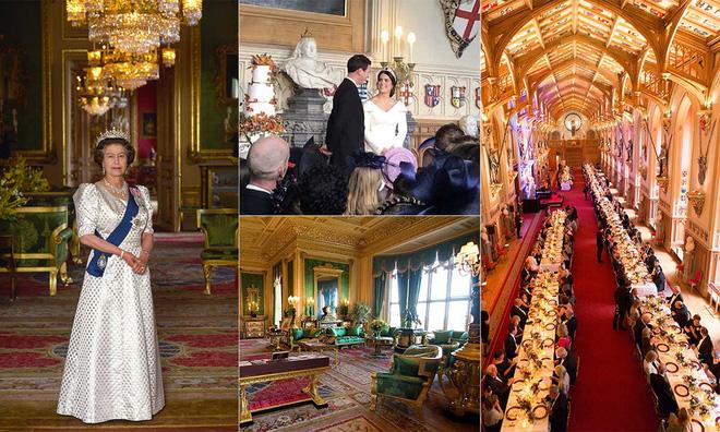 Hé lộ đường hầm bí ẩn bên trong lâu đài Windsor của Nữ hoàng Anh Elizabeth II - Ảnh 2.
