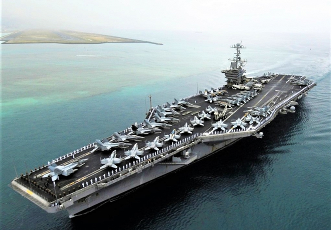 Mười ưu thế khiến Mỹ không thể thiếu tàu sân bay sử dụng năng lượng hạt nhân - Ảnh 2.