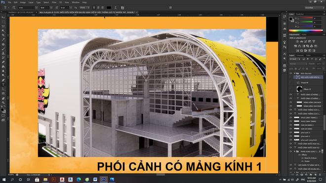 Sinh viên kiến trúc gây choáng với đồ án tốt nghiệp về khu liên hợp Hip-hop Việt Nam - ảnh 3