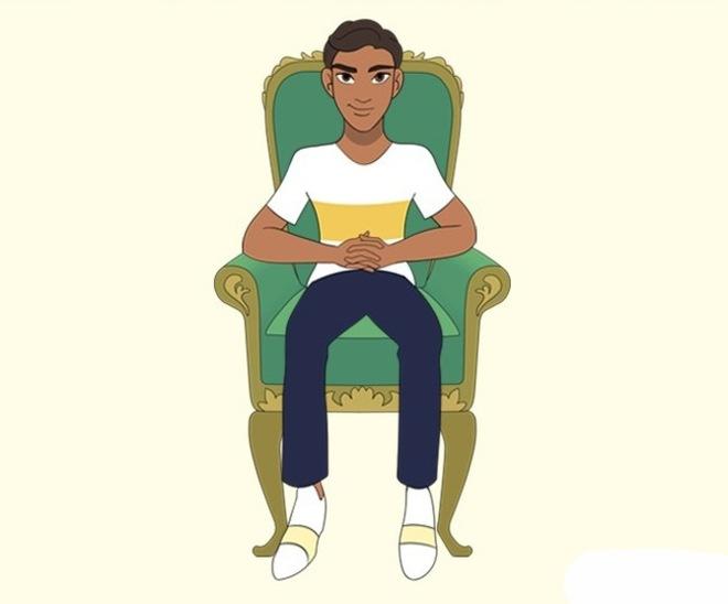 Trắc nghiệm khả năng nhìn người: Theo bạn, nhà lãnh đạo sẽ ngồi ghế tựa lưng ở tư thế nào? - Ảnh 12.