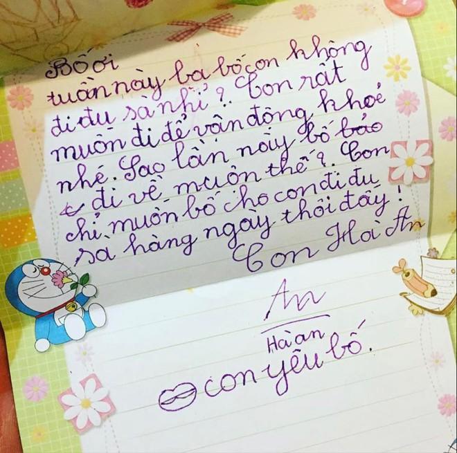 Mẩu giấy nhắn con gái 4 tuổi viết khiến ông bố nhòe mắt, quyết định xăm toàn bộ lên cánh tay - Ảnh 3.