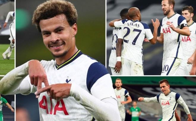 Ghi 7 bàn vào lưới Maccabi Haifa, Tottenham dự vòng bảng Europa League