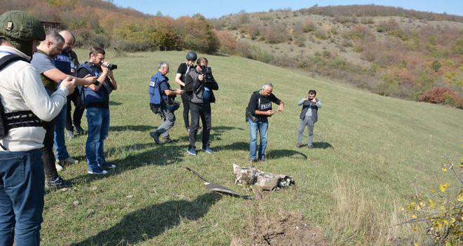 Chiến sự đảo chiều: Quân Armenia thắng lớn, UAV Azerbaijan rụng như sung -  Thổ có tính toán riêng ở Karabakh - Ảnh 1.