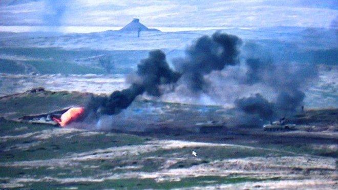 Chiến sự Armenia-Azerbaijan: Diễn biến ác liệt, thương vong khủng khiếp - TT Putin quyết ra tay dàn xếp - Ảnh 1.