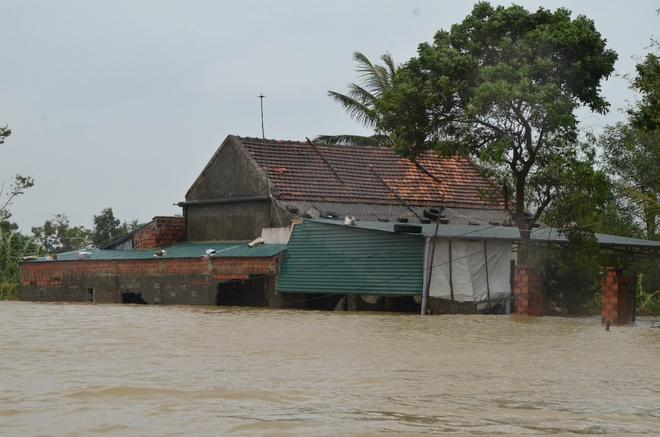 Người dân dầm mưa bên quốc lộ xin cứu trợ, giúp qua cơn đói ở Quảng Bình - Ảnh 11.