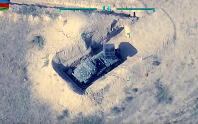 Ám ảnh cảnh Azerbaijan dùng UAV Thổ Nhĩ Kỳ tấn công các vị trí của Armenia ở Karabakh - ảnh 1