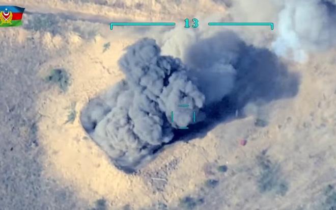 Ám ảnh cảnh Azerbaijan dùng UAV Thổ Nhĩ Kỳ tấn công các vị trí của Armenia ở Karabakh - ảnh 2