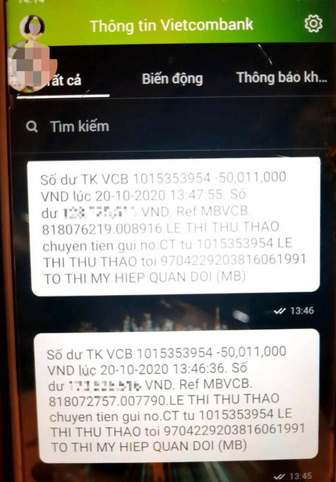 Góa phụ Rào Trăng 3 bị chiếm đoạt tiền hỗ trợ: Vietcombank tạm ứng 100 triệu đồng? - Ảnh 1.