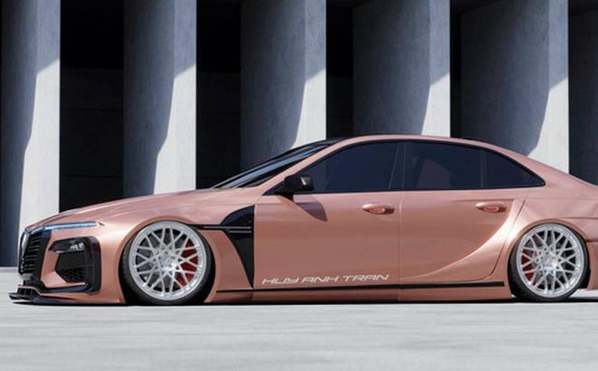 Designer Việt thiết kế VinFast Lux A2.0 như siêu xe: 'Mercedes có AMG, BMW có M, còn VinFast có thể cần thứ này đây'