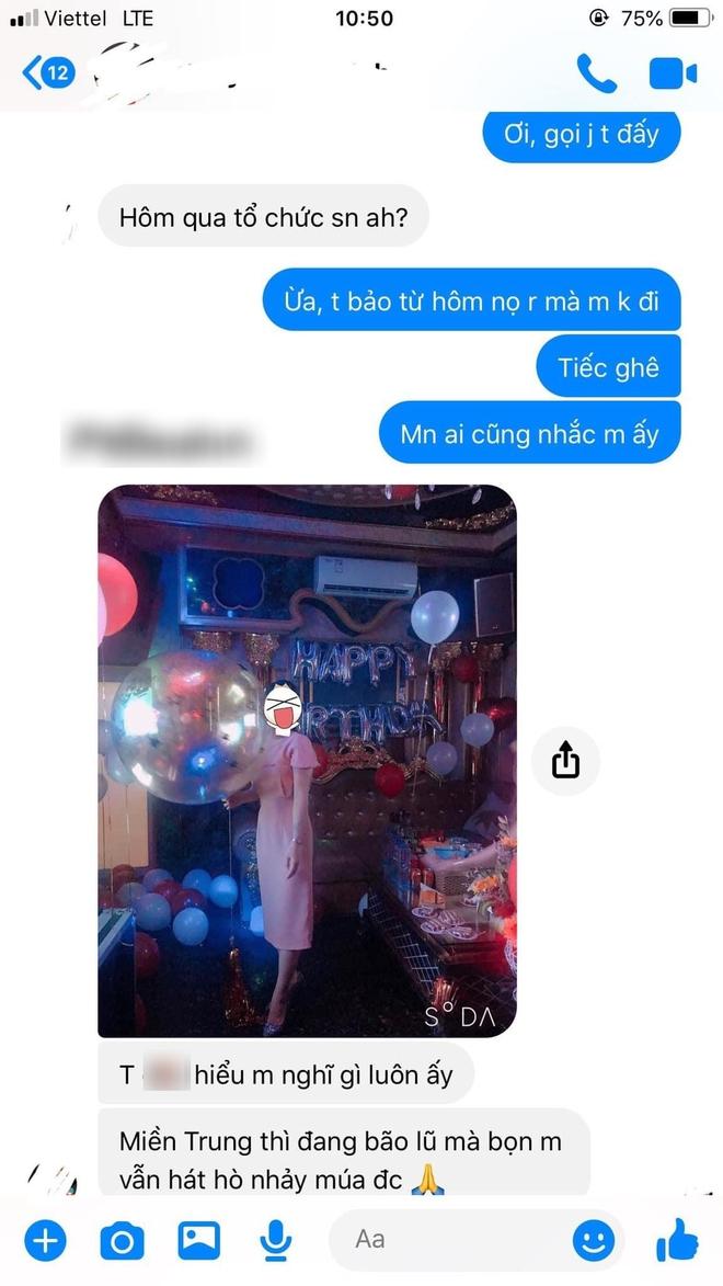 Đăng ảnh tổ chức tiệc sinh nhật, cô gái nhận phản ứng không ngờ từ bạn thân: Tin nhắn gây tranh cãi - Ảnh 2.