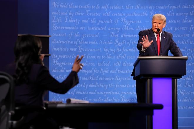 Tổng thống Trump tuyên bố: Joe, tôi ra tranh cử vì ông và ông Obama - Ảnh 1.