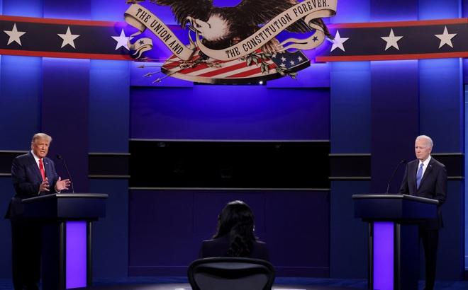 Chiến thuật 'hòa nhã' của ông Trump tại vòng tranh luận cuối với ông Biden