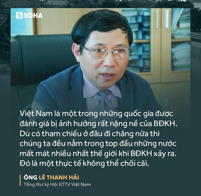 Ông Lê Thanh Hải: Dù đo lường cách nào, Việt Nam vẫn nằm trong vài nước mất mát nhiều nhất vì BĐKH - Ảnh 6.