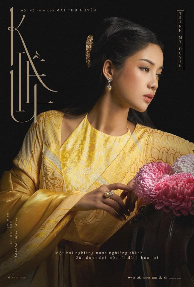 Người thủ vai nàng Kiều: Rất gợi cảm, từng là đối thủ của HHen Niê - Ảnh 1.