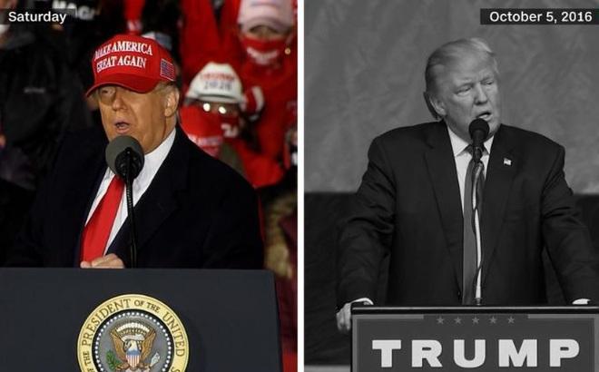 """Khát khao tái cử, TT Trump """"tái diễn"""" hành động đem lại chiến thắng trong cuộc bầu cử 2016"""
