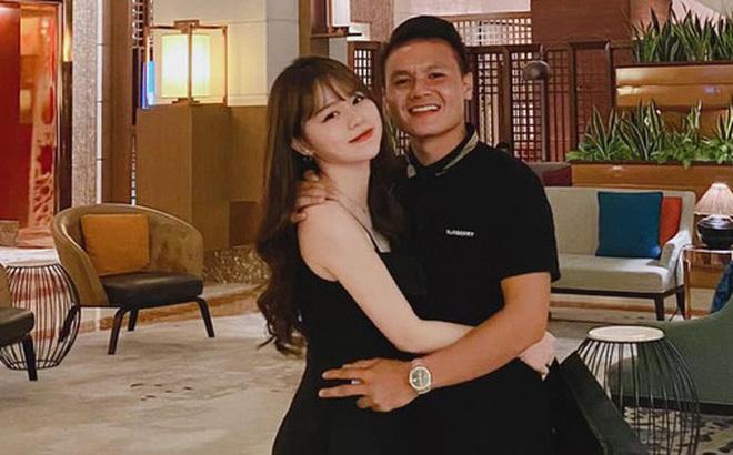 """Huỳnh Anh ra mặt bảo vệ Quang Hải: """"Bớt ăn hiếp người yêu em nha!"""""""