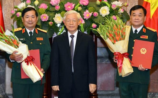 Thủ tướng bổ nhiệm Thượng tướng Lê Huy Vịnh, Trung tướng Võ Minh Lương làm Thứ trưởng Bộ Quốc phòng - Ảnh 3.